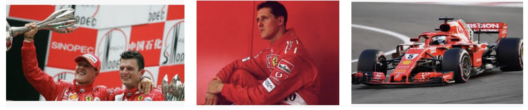 Michael Schumacher F1